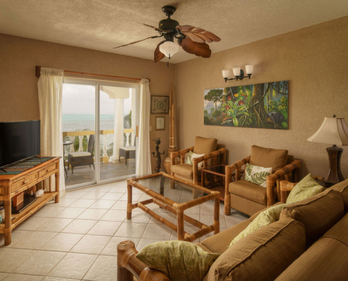 Pelican Reef Villas Living Area